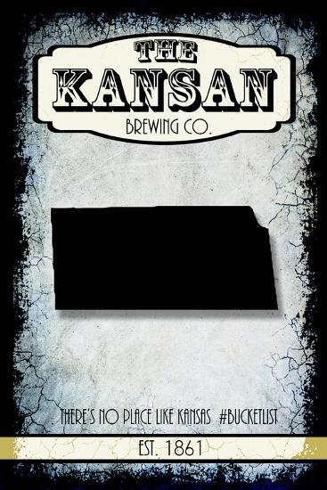 States Brewing Co Kansas-LightBoxJournal-Giclee Print