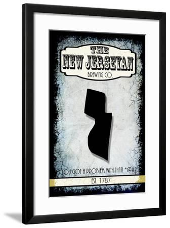States Brewing Co New Jersey-LightBoxJournal-Framed Giclee Print