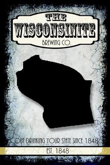 States Brewing Co Wisconsin-LightBoxJournal-Giclee Print