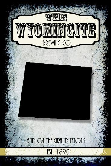 States Brewing Co Wyoming-LightBoxJournal-Giclee Print