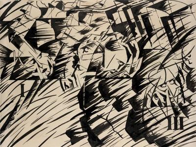 States of Mind: Those Who Go, 1912-Umberto Boccioni-Giclee Print