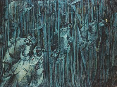 States of Mind: Those Who Stay, 1911-Umberto Boccioni-Giclee Print