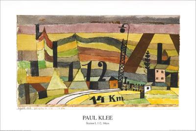 Station L 112, c.14 Km-Paul Klee-Art Print