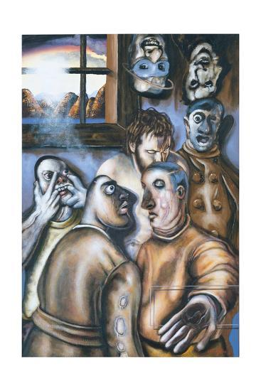 Stations of the Cross I: Jesus Is Condemned to Death, 2002-Chris Gollon-Giclee Print