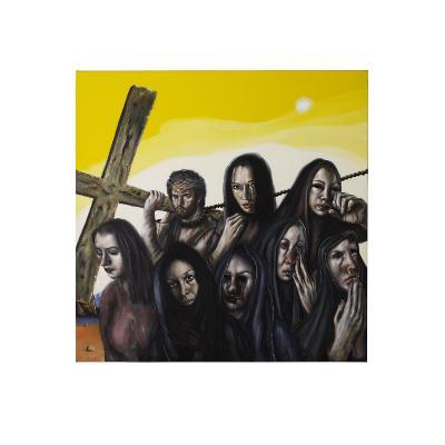 Stations of the Cross VIII: Jesus Speaks to the Women of Jerusalem, 2006-Chris Gollon-Giclee Print