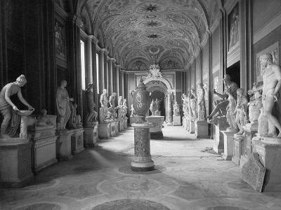 Statuary Gallery at the Vatican Museum--Photographic Print