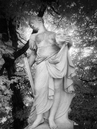 Statue at Baroque Garden, Heidenau, Germany-Simon Marsden-Giclee Print