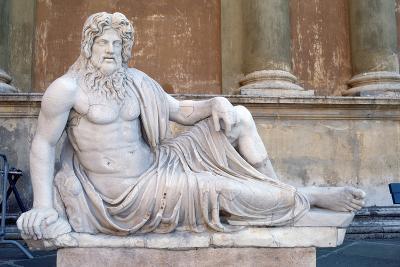 Statue, Court of the Pigna, Vatican, Rome--Photographic Print