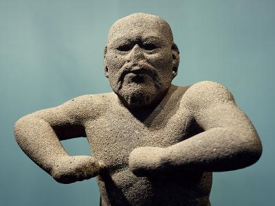 Statue Depicting a Fighter--Giclee Print