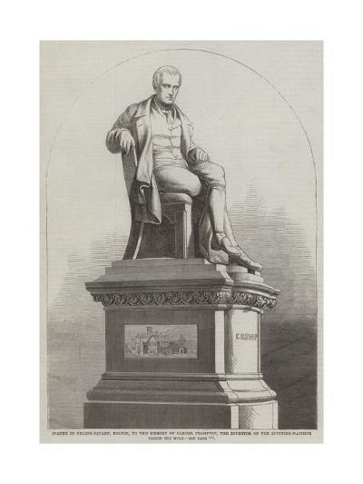 Statue in Nelson-Square--Giclee Print