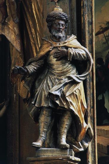 Statue in Side Chapel, Biserica Sfintul Mihail--Giclee Print