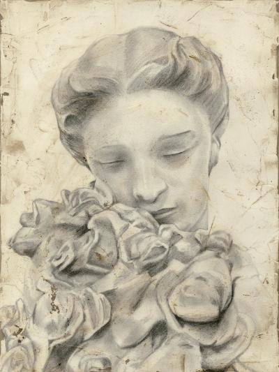Statue in the Garden I-Megan Meagher-Art Print