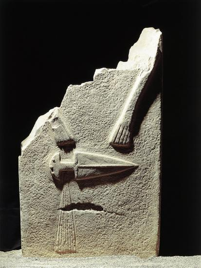 Statue Menhir with Male Features and Carved Dagger, Group C known as Filetto I--Giclee Print