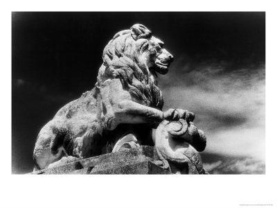 Statue of a Lion, City Gates, Arles, Provence, France-Simon Marsden-Giclee Print