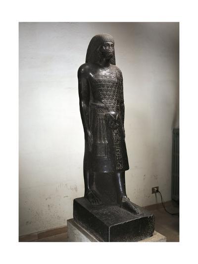 Statue of Anen--Giclee Print