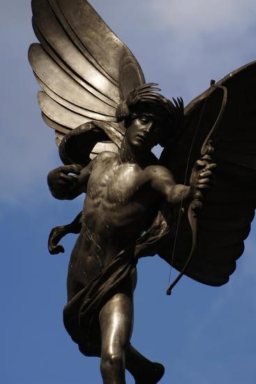 Statue of Anteros, or the Angel of Christian Charity, Shaftesbury Memorial Fountain, Piccadilly…-Alfred Gilbert-Giclee Print