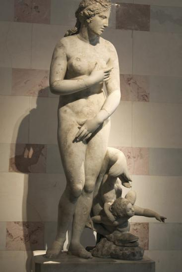 Statue of Aphrodite, Goddess of Beauty and Love--Photographic Print