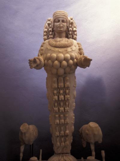 Statue of Artemis in a Museum in Ephesus, Turkey-Richard Nowitz-Photographic Print
