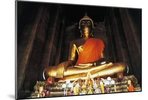 Statue of Buddha, Wat Kalayanamitr, Bangkok, Thailand, 19th Century