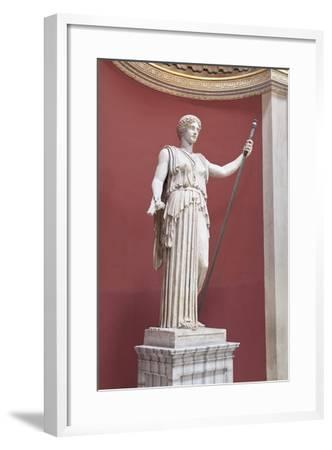 Statue of Ceres, Second Century AD, Vatican Museums, Rome, Italy--Framed Giclee Print