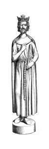 Statue of Childebert, 13th Century