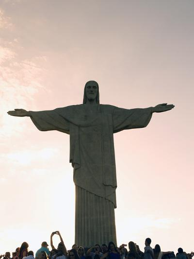 Statue of Christ the Redeemer, Corcovado, Rio De Janeiro, Brazil, South America-Angelo Cavalli-Photographic Print