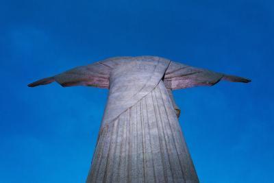Statue of Christ the Redeemer on Corcovado, Rio de Janeiro, Brazil-Keren Su-Photographic Print