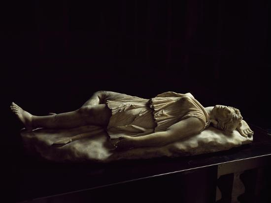 Statue of Dead Amazon, Roman Copy from Original Made by School of Pergamon--Giclee Print