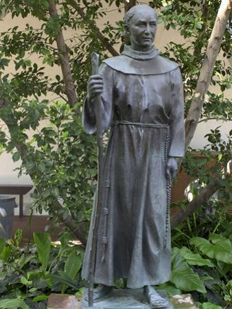 Statue of Father Junipero Serra, Spanish Franciscan Missionary, San Diego Mission