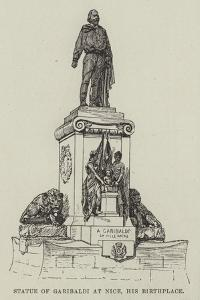Statue of Garibaldi at Nice, His Birthplace