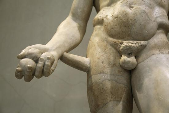 Statue of Heracles, 2nd century. Artist: Unknown-Unknown-Giclee Print