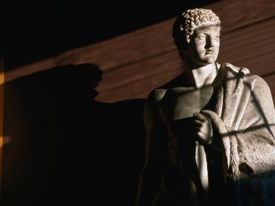 Statue of Hercules at Thorvaldsens Museum, Copenhagen, Denmark-Martin Moos-Photographic Print