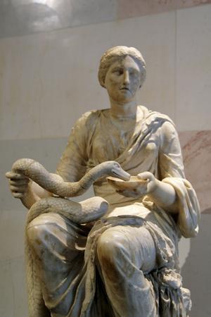 Statue of Hygieia, Goddess of Health--Photographic Print