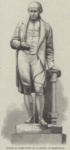 Statue of James Watt, by a Munro, at Birmingham