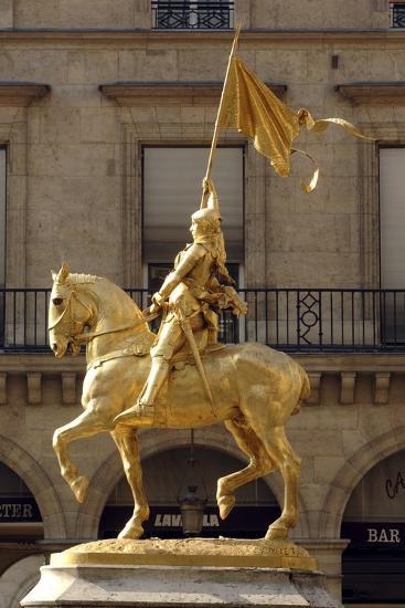 Statue of Joan of Arc (1412-1431)--Photographic Print