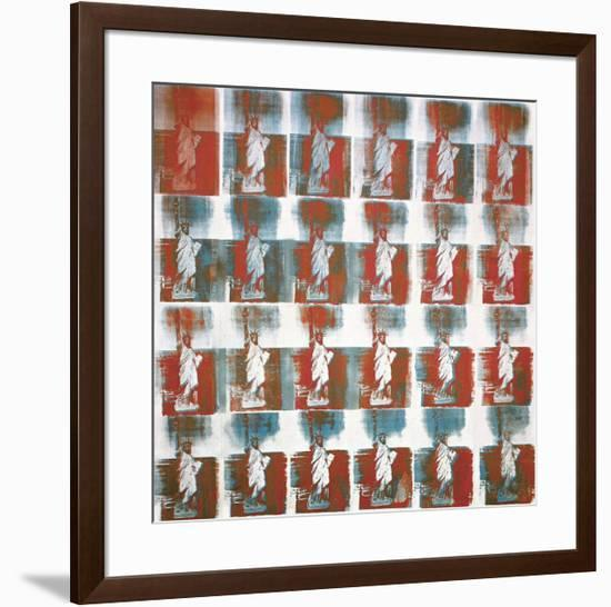 Statue of Liberty, c.1963-Andy Warhol-Framed Giclee Print