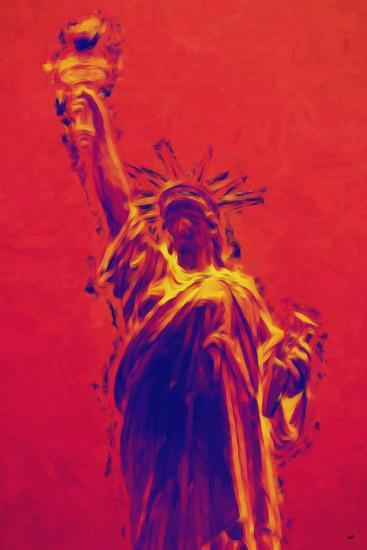 Statue of Liberty II - In the Style of Oil Painting-Philippe Hugonnard-Giclee Print