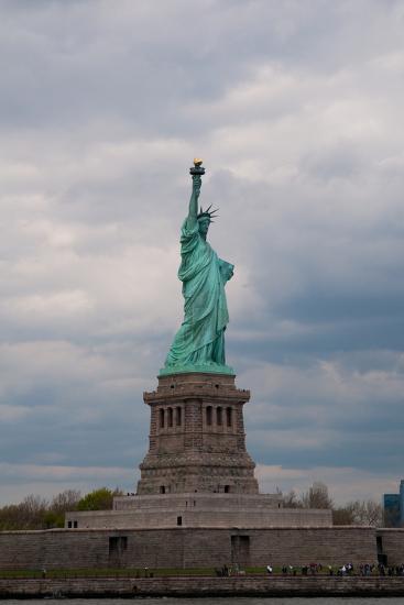 Statue of Liberty II-Erin Berzel-Photographic Print