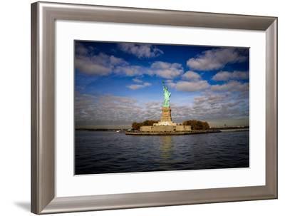 Statue of Liberty, New York City, United States of America, North America-Jim Nix-Framed Photographic Print