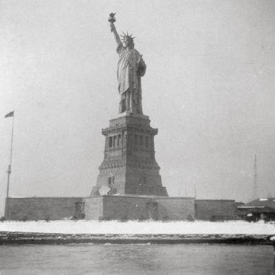 Statue of Liberty, New York City, USA, 20th Century-J Dearden Holmes-Photographic Print