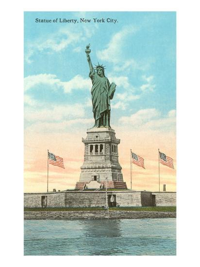 Statue of Liberty, New York City--Art Print