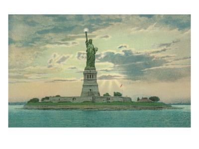 Statue of Liberty, New York City--Art Print