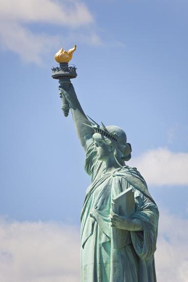Statue of Liberty, New York, USA-Peter Adams-Photographic Print