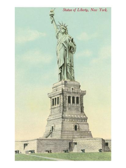 Statue of Liberty, New York--Art Print