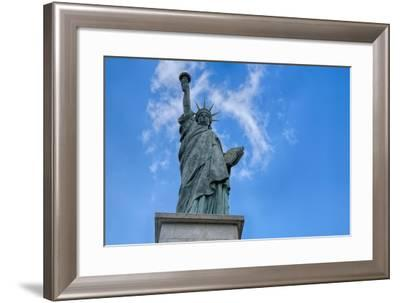 Statue Of Liberty Paris I-Cora Niele-Framed Giclee Print