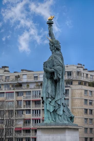 Statue Of Liberty Paris II-Cora Niele-Giclee Print