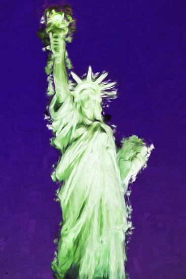 Statue of Liberty VIII - In the Style of Oil Painting-Philippe Hugonnard-Giclee Print