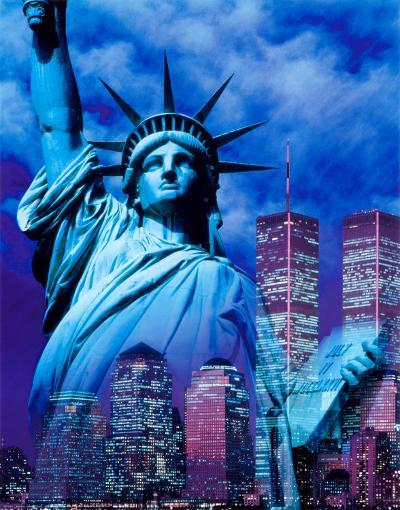 Statue of Liberty--Art Print