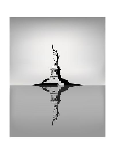 Statue Of Liberty-zhelunovych-Art Print