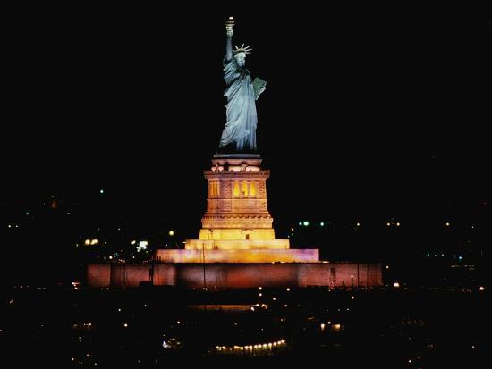 Statue of Liberty-Joseph Sohm-Photographic Print